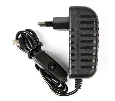 Качественный блок питания с выключателем для Raspberry Pi 4 5V 3.0A
