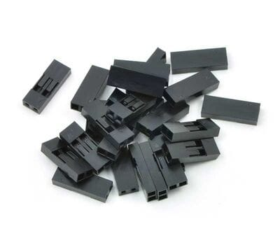 Коннекторы 2 pin 2.54 мм (10 шт.)
