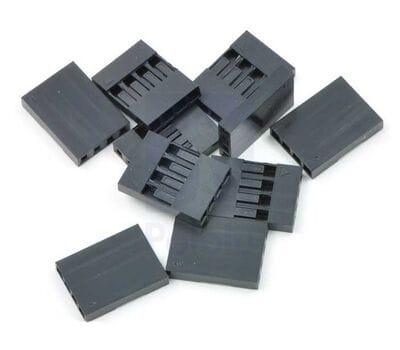 Коннекторы 4 pin 2.54 мм (10 шт.)
