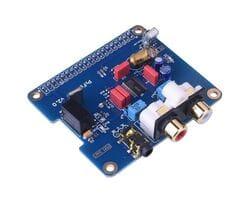 Звуковая карта HIFI DAC для Raspberry Pi (плата расширения) I2S порт