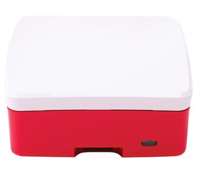 Официальный бело-красный корпус для Raspberry Pi 4 Model B