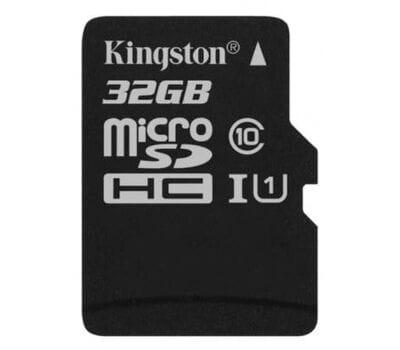 Карта памяти Kingston 32GB microSDHC class 10 UHS-I (SDCS/32GB)