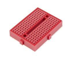 Мини-макетная плата SYB-170 (170 точек) красная