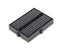 Мини-макетная плата SYB-170 (170 точек) чёрная