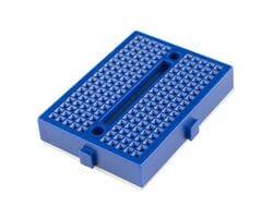 Мини-макетная плата SYB-170 (170 точек) синяя