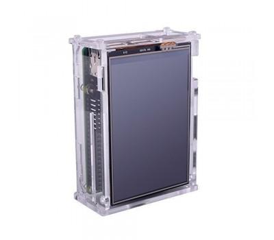 Корпус для Raspberry Pi 4 (кулер или дисплей) прозрачный