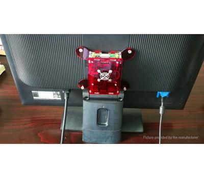 Корпус для Raspberry Pi 4 VESA красный