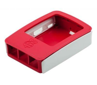 Официальный бело-малиновый корпус для Raspberry Pi 3 Model B/B+