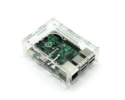 Корпус для Raspberry Pi с отверстием под кулер