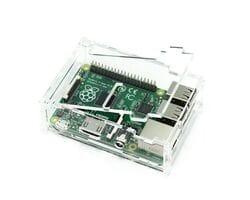 Корпус для Raspberry Pi 3 прозрачный с доступом к GPIO