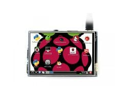 Резистивный дисплей Waveshare 3.5 дюймов IPS LCD для Raspberry Pi 480x320
