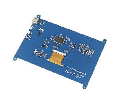 Емкостный LCD дисплей 7 дюймов c разрешением 800x480 для Raspberry Pi