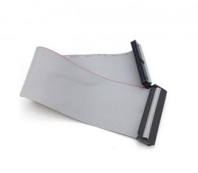 Кабель шлейф GPIO 40Pin 20 см серый