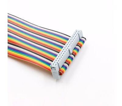 Кабель шлейф GPIO 40Pin 20 см цветной