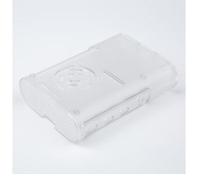 Пластиковый корпус Raspberry Pi 4 с GPIO прозрачный