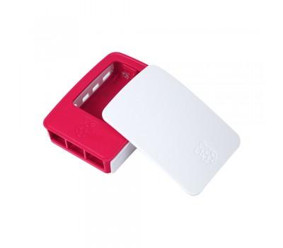Официальный бело-малиновый корпус для Raspberry Pi 4