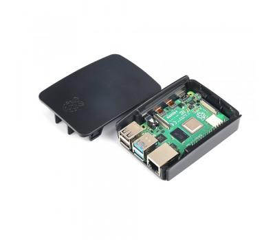 Официальный чёрный корпус для Raspberry Pi 4