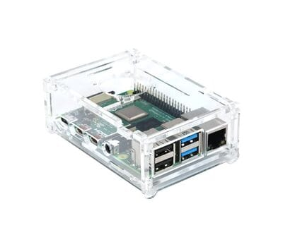 Корпус для Raspberry Pi 4 с отверстием под кулер