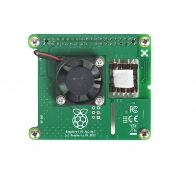Плата расширения Raspberry Pi Power over Ethernet (PoE) HAT