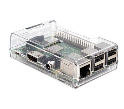 ABS Корпус для Raspberry Pi прозрачный