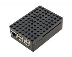 Корпус LEGO для Raspberry Pi чёрный