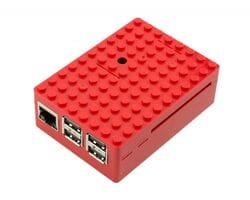 Корпус LEGO для Raspberry Pi красный