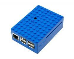 Корпус LEGO для Raspberry Pi синий
