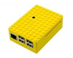 Корпус LEGO для Raspberry Pi жёлтый