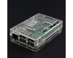 Корпус для Raspberry Pi 3 B+ с доступом к разъёмам прозрачный