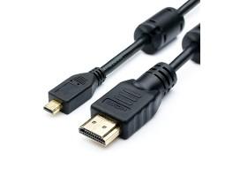Кабель Micro-HDMI - HDMI 1.0 m Atcom