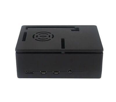 Корпус для Raspberry Pi 4 c GPIO (кулер или дисплей) чёрный