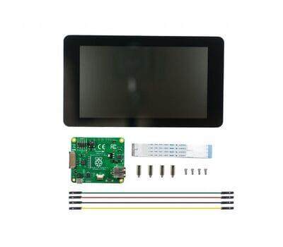 Официальный дисплей Raspberry Pi 7 дюймов 800x480 емкостный тачскрин
