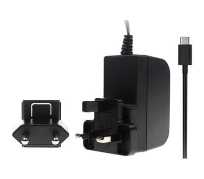 Блок питания для Raspberry Pi 4 USB-C 5V 3A чёрный