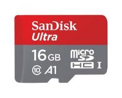 Карта памяти SANDISK 16GB microSDHC class 10 UHS-I U1 (SDSQUAR-016G-GN6MA)