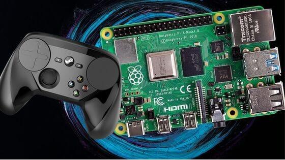 Raspberry Pi и Steam Link для стриминга игр!